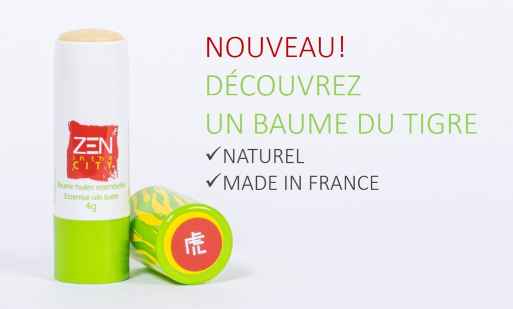 Zen in the City, un baume du tigre naturel et made in France.